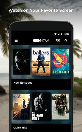 HBO Now App on Android