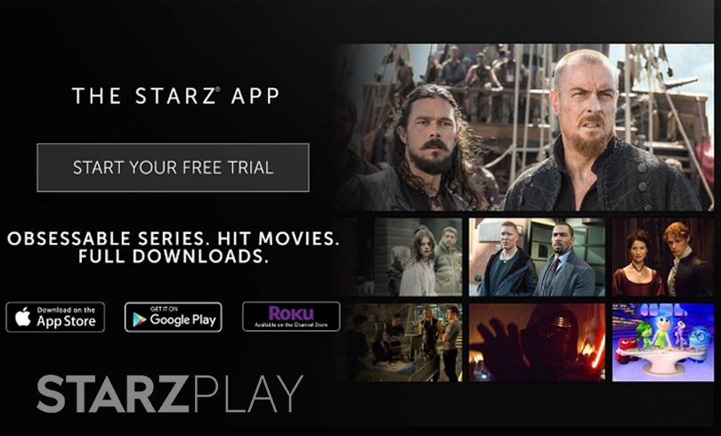 Starz Free Trial on Starz App