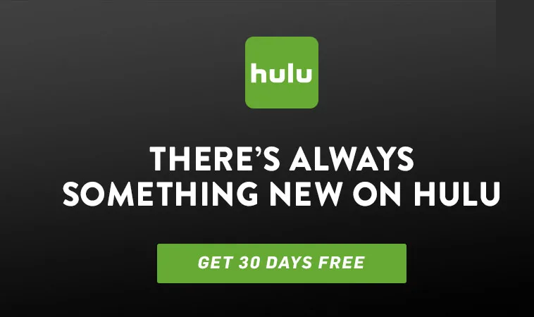 Get 30 Days Free Trial On Hulu
