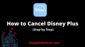 How to Cancel Disney Plus
