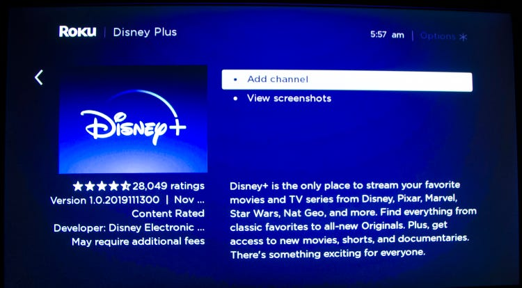 Add Disney Plus Channel On Roku